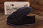 Туфли мужские классические из натуральной замши VanKristi, фото 3