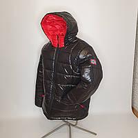 ОПТОМ Зимняя мужская куртка, Тони, размеры 46-54 Черный