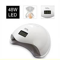 Профессиональная лампа для маникюра и педикюра SUN 5 Лампа для сушки ногтей гель-лака UV-LED 48W