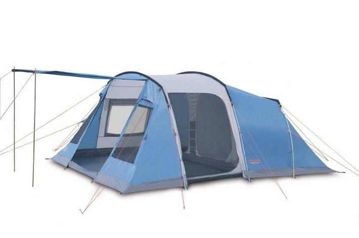 Кемпинговая палатка Pinguin Interval 4 Синий, фото 2