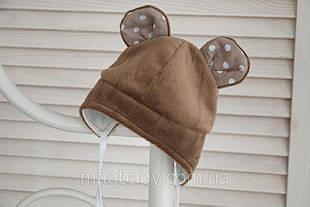 Детская шапка для мальчика Mag Baby Украины 102804 Коричневый