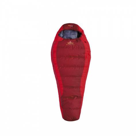 Детский спальный мешок Pinguin Savana Junior Правая, Красный, фото 2