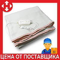 Распродажа! Электропростынь двуспальная с сумкой (160х115 см, 100 W), Electric Blanket, Красная, электроодеяло, фото 1