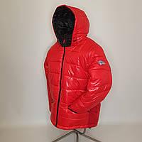 ОПТОМ Зимняя мужская куртка, Тони, размеры 46-54 Красный
