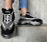 Кросівки чорні, фото 6