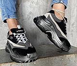 Кросівки чорні, фото 4