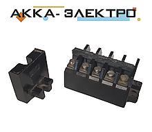 Блок затискачів БЗ24-4п25-в/в-У3 5-клем (25А)