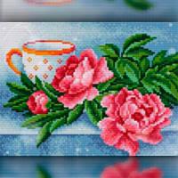 Алмазная вышивка мозаика The Wortex Diamonds Натюрморт 30x40 TWD10033 полная зашивка квадратные стразы. Набор, фото 1