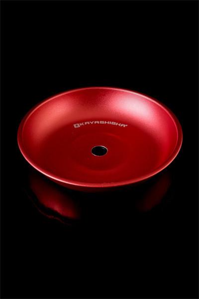 Блюдце Kaya Elox Colored 20см, красное