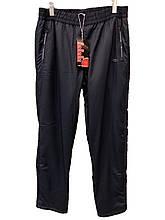 Брюки мужские зимние SCR из плащевки на флисе спортивные штаны теплые синие