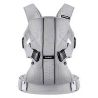 Рюкзак-кенгуру BabyBjorn One Silver mesh (от 3,5 до 15 кг.)