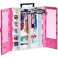 Розовый Шкаф для одежды Barbie GBK11