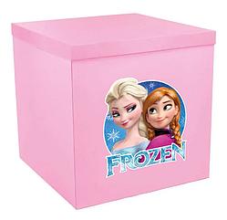 Наклейка на коробку из шарами Холодное Сердце