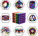 Конструктор-головоломка Neocube 216 кульок Магнітна іграшка головоломка, фото 4