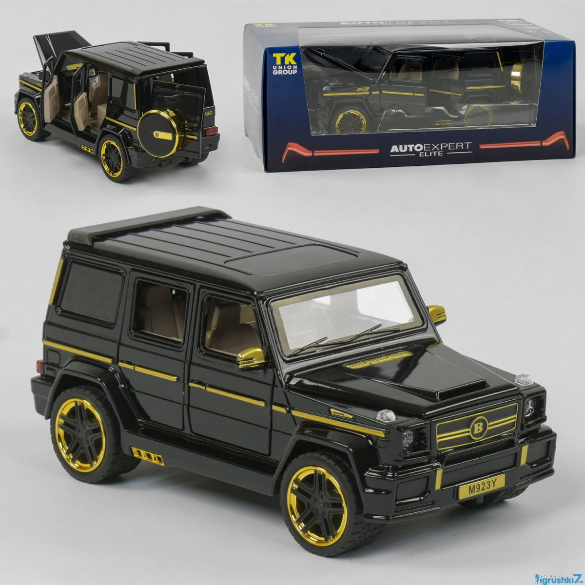 Машинка металлическая Autoexpert EL 4125