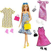 Кукла Барби с одеждой, обувью и аксессуарами Barbie Fashions