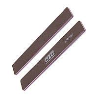 Пилка C.T.C nail systems прямая широкая 100/100 коричневая полиуретан