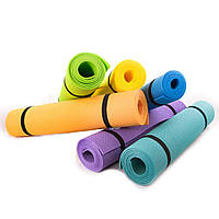 Коврик (каремат) для йоги, фитнеса, танцев OSPORT Колибри (FI-0077)