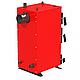 Универсальный котел на дровах Kraft E 12 кВт с ручным управлением и водонаполненными колосниками, фото 4