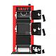 Универсальный котел на дровах Kraft E 12 кВт с ручным управлением и водонаполненными колосниками, фото 5