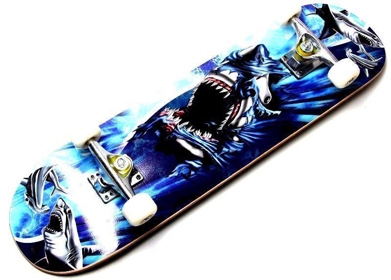 "СкейтБорд ""COOL SHARK"" до 80 кг"