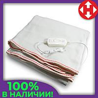 Электро одеяло с подогревом Electric Blanket (100 W, 150х160 см) Красное, электрическая простынь, фото 1