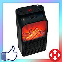 Распродажа! Портативный тепловентилятор Камин (навесной в розетку) Flame Heater 1000 W, обогреватель, дуйчик, фото 1