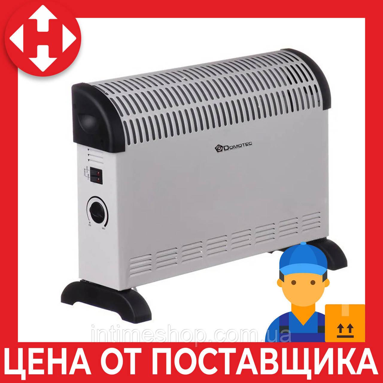 Конвектор электрический Domotec MS 5904, экономный обогреватель для дома, с доставкой