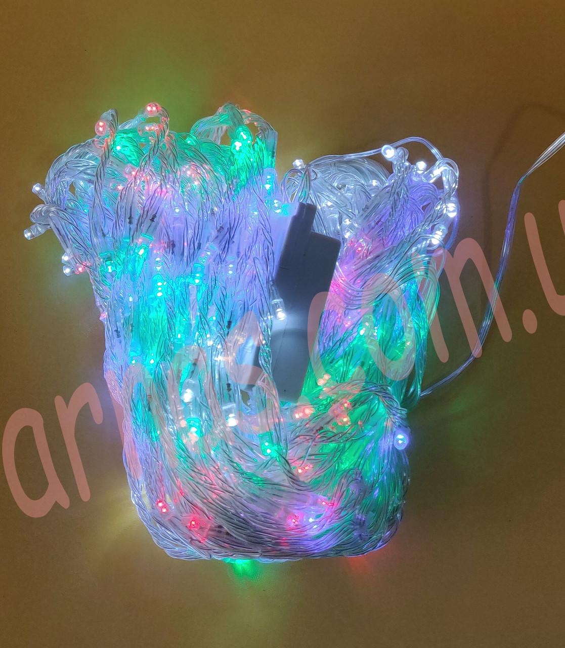 Светодиодная гирлянда водопад 280LED RGB (8-17)
