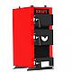 Универсальный котел на дровах Kraft E 24 кВт с ручным управлением и водонаполненными колосниками, фото 3