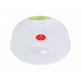 Крышка для микроволновой печи холодильника d-25,5 см Алеана 167072