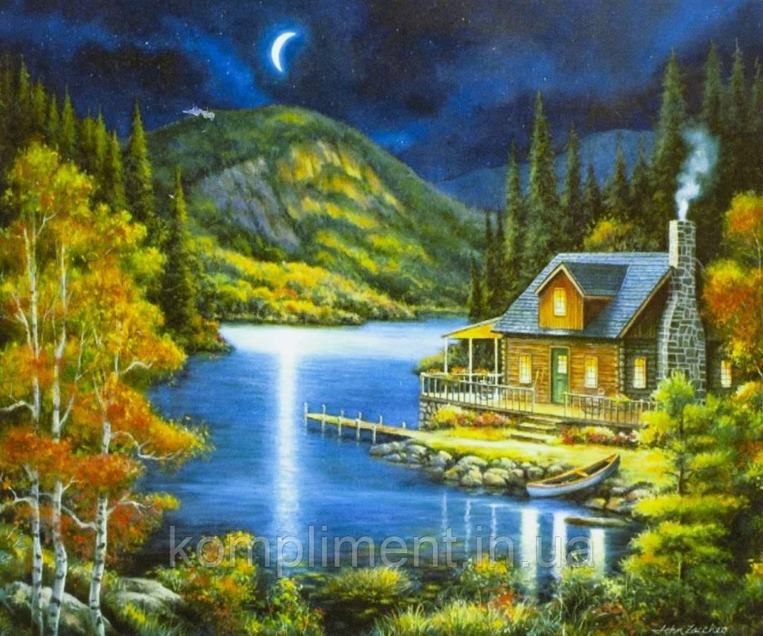 """Картина по номерам  """"Ночь"""" 40*50 см, краски - акрил"""