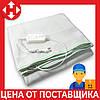 Распродажа! Электро одеяло с подогревом Electric Blanket (100 W, 150х160 см) Зеленое, электрическая простынь
