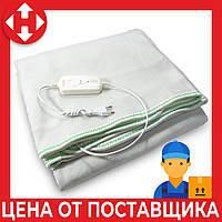 Распродажа! Электро одеяло с подогревом Electric Blanket (100 W, 150х160 см) Зеленое, электрическая простынь, фото 1