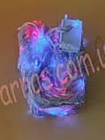 Светодиодная гирлянда штора 480LED RGB (10-4), фото 2