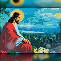 Алмазна вишивка мозаїка The Wortex Diamonds Релігія 16 30x40 TWD60016 повна зашивка квадратні стрази, фото 1