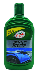 Turtle Wax Полироль Metallic Car Wax + ptfe 500 ml