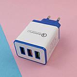 Адаптер быстрой зарядки 18W Output 3.0 A, фото 2