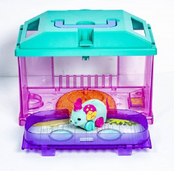 Интерактивная игрушка Мышка в доме LITTLE LOVELY ANIMAL