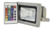 Светодиодный прожектор LEDEX 10W RGB, 120º, IP65, RGB713