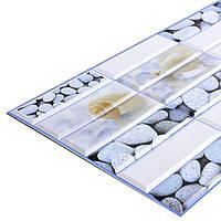 Пластиковая Декоративная Панель ПВХ плитка СВЕЖЕСТЬ (955X480) мм ЛОФТ/LOFT