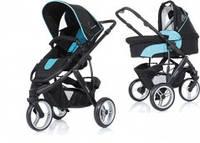 Универсальная коляска 2 в 1 ABC Design Cobra, цвет Turquoise-black