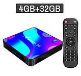 Смарт ТВ приставка X88 Pro 4gb/32gb Ultra HD SmartTV Андроид Android TV box + пульт Air Mouse G20, фото 2