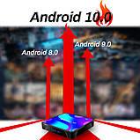 Смарт ТВ приставка X88 Pro 4gb/32gb Ultra HD SmartTV Андроид Android TV box + пульт Air Mouse G20, фото 6