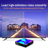 Смарт ТВ приставка X88 Pro 4gb/32gb Ultra HD SmartTV Андроид Android TV box + пульт Air Mouse G20, фото 8