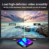 Смарт ТВ приставка X88 Pro 4gb/32gb Ultra HD SmartTV Андроид Android TV box + пульт Air Mouse G20, фото 10
