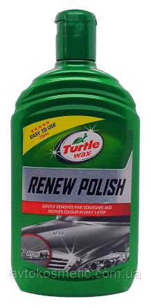 Восстановитель цвета ПолирольTurtle Wax renew polish 500 ml