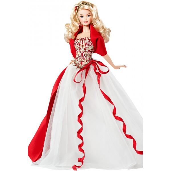 Кукла Барби коллекционная Праздничная 2010 ( 2010 Holiday Barbie Doll)