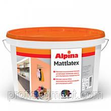 Aкриловая моющаяся (особо белая) краска Alpina Mattlatex 10 л