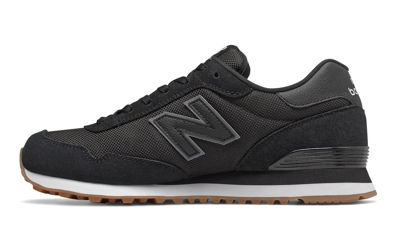 New Balance 515 ML515HRB Оригинальные черные мужские кроссовки